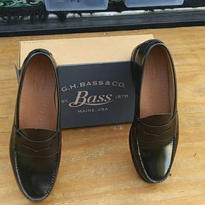 Bass Penny Loafers Sz 12EE